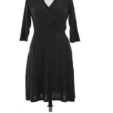 Gifts 4 All - Your Choice Plus Size Overlapping Neck dress