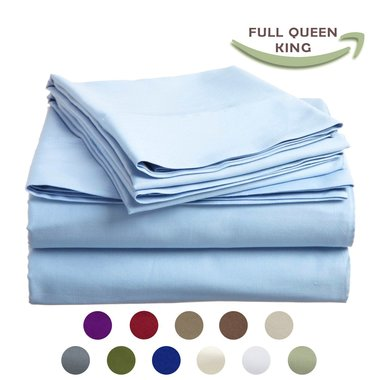 Gifts 4 All - As Soft as Egyptian Cotton 1800 - 6pc Sheet Set
