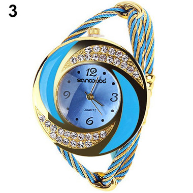 Gifts 4 All, Because of big dial it is easy to read. Crystal design.