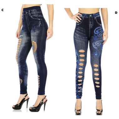 Gifts 4 All Cutout Jegging your Choice