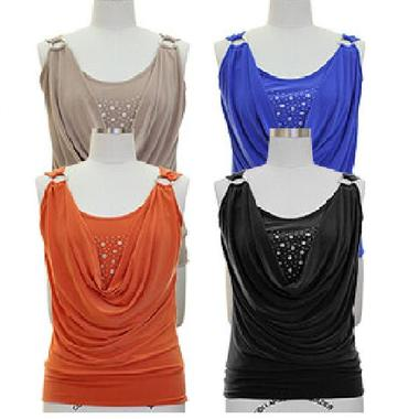 Gifts 4 All - Beautiful Top with Studded neckline