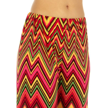 Gifts 4 All - Zig-zag Palazzo Pant Your Choice of color