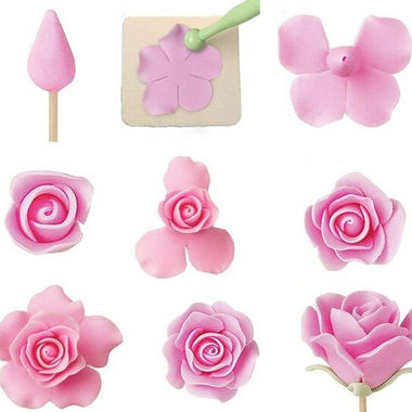 Gifts 4 All 6PC - Sugar Craft Rose / Flower Making Tool