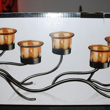Gifts 4 All - Beautiful 5 Candle Holder