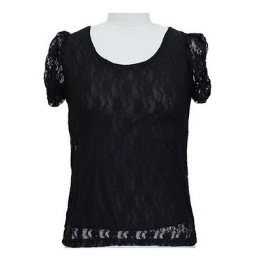 Gifts 4 All - Lace Junior Ruched sleeve Top Your Choice of Color and Size