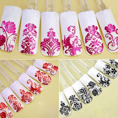 Gifts 4 All - 12 Nail Stickers Your Choice of color or style