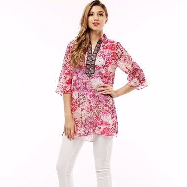 Gifts 4 All - Beautiful Long Sleeves Printed Top XL Size