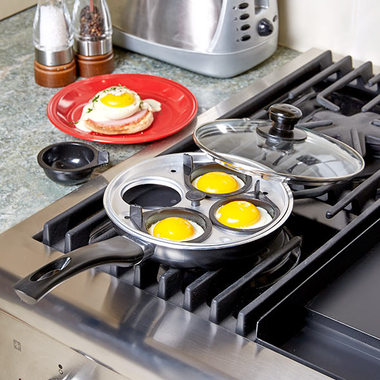Gifts 4 All - Egg Poacher Pan - poach 4 eggs at once