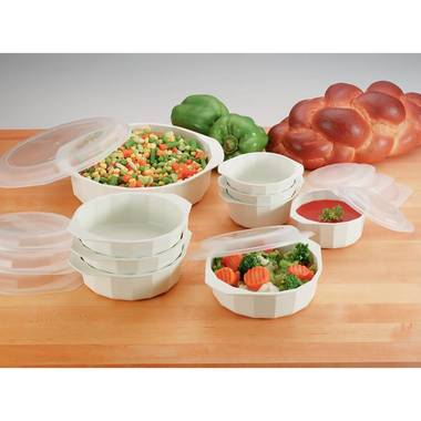 Gifts 4 All, This set is ideal for cooking in microwave and serving.