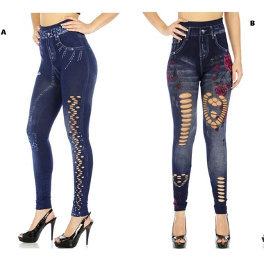 Gifts 4 All - Cutout Jegging your Choice
