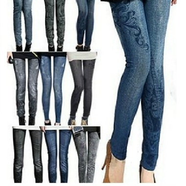 Gifts 4 All - Women Printed Jegging Fits up to 14 size.