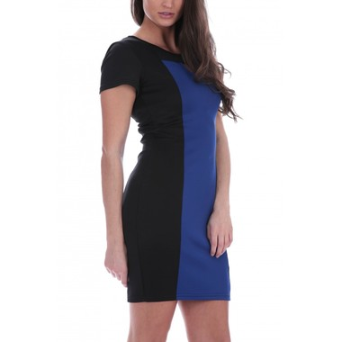 Gifts 4 All - Colorblock Tunic Dress -Your Choice of Color and Size