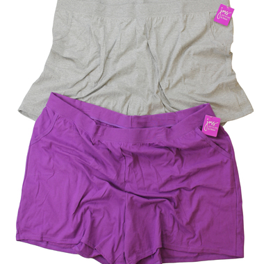 Gifts 4 All - Plus size Woman Short in Purple Color Size 32W (5X)