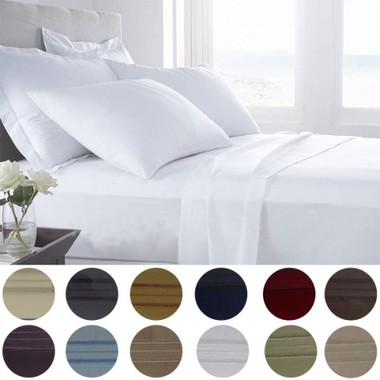Gifts 4 All - 1800 Series Egyptian Comfort 6pc. Sheet set in 12 Color