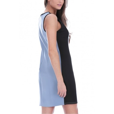 Gifts 4 All - Color Block Pastel Tunic Dress Your Choice Of color and Size